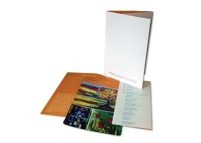 Mini Folder with Card Insert
